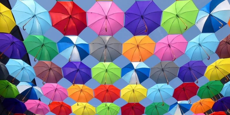 colourful website design